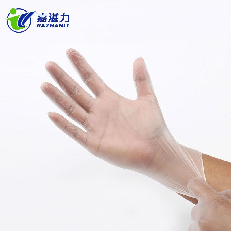厂家直销防过敏透明一次性pvc手套 无粉医用牙科食品纹身美甲手套 一次性PVC手套
