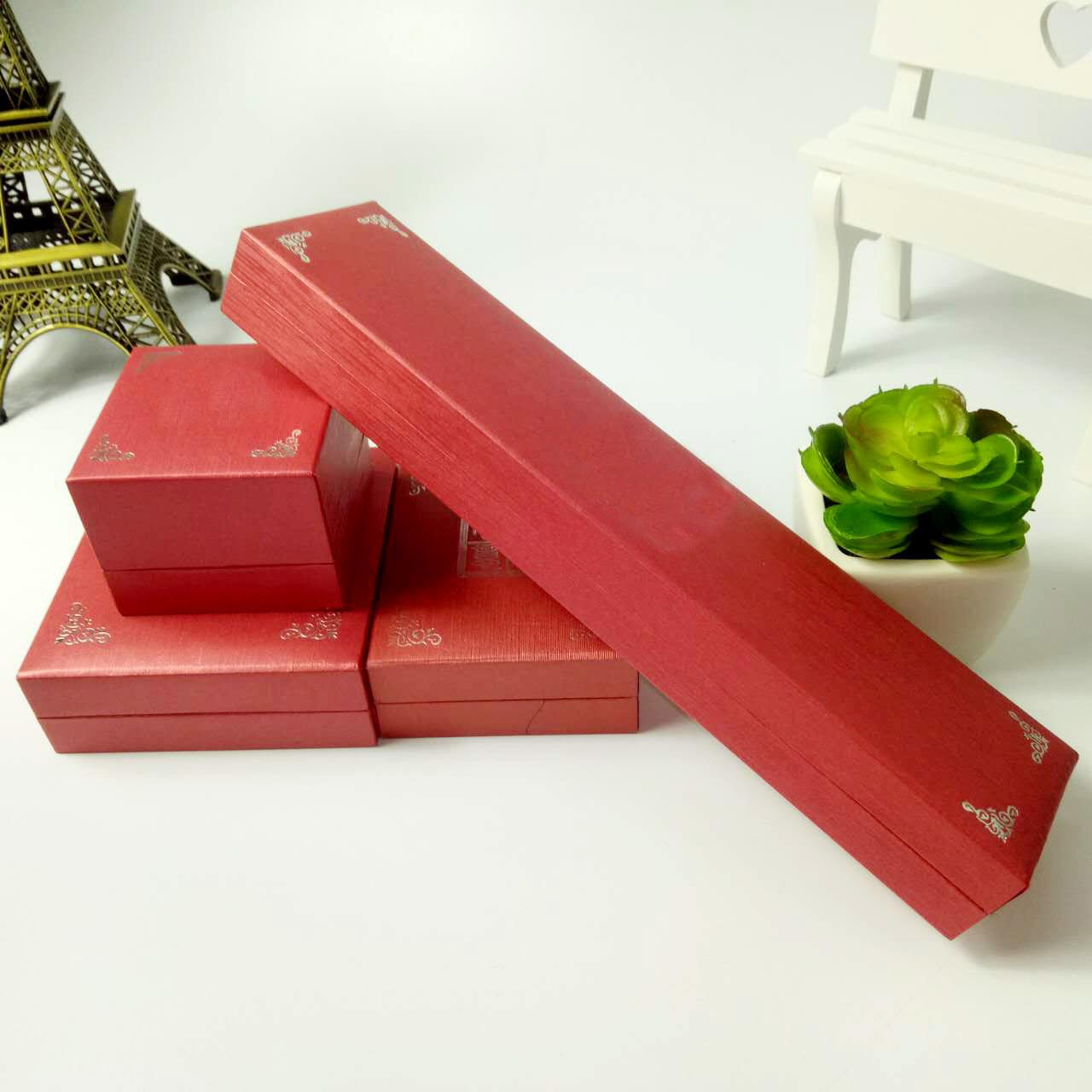 厂家定做 高档首饰包装盒 特种纸首饰盒 天地盖手镯首饰盒 可烫金