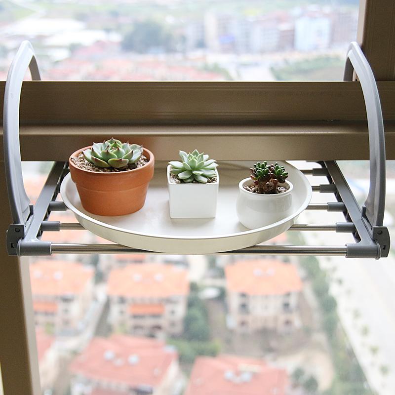 多功能可折叠阳台晾晒架 室内外晾鞋架 浴室毛巾架取暖器衣架 阳台架 折叠阳台架