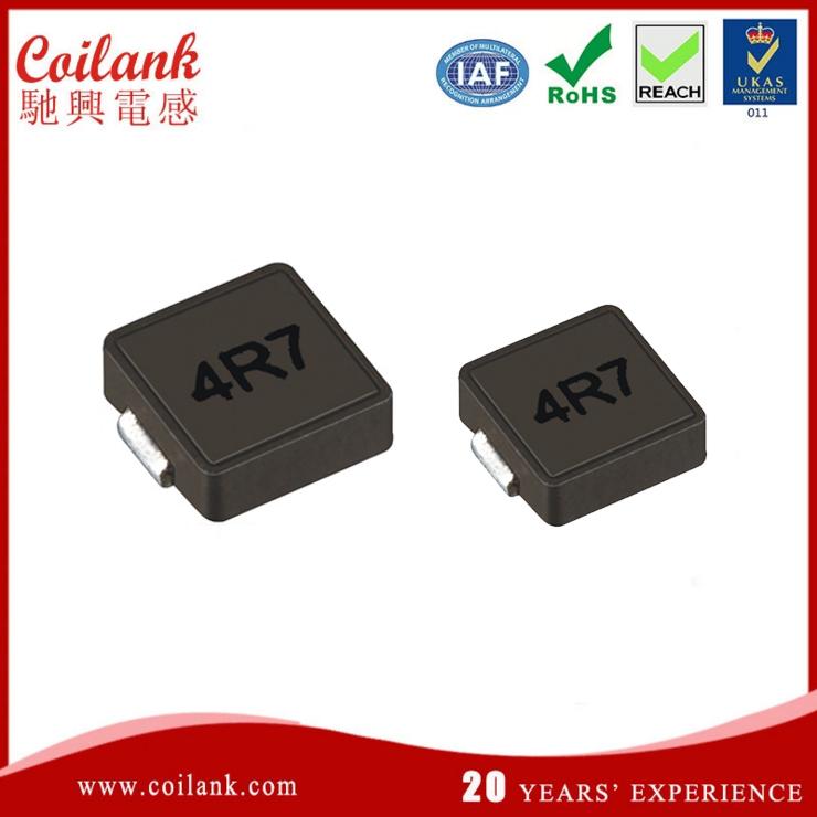0420 4.7uH大电流电感|一体成型电感选型|屏蔽功率大电流合金粉电感