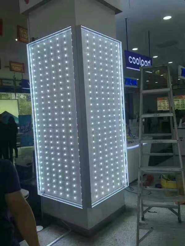 手机店广告灯箱无边框软膜灯箱灯膜 灯膜厂家 灯膜价格