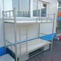 郑州加厚铁床上下铺铁架床宿舍高低床学生床双层床子母床大弯床