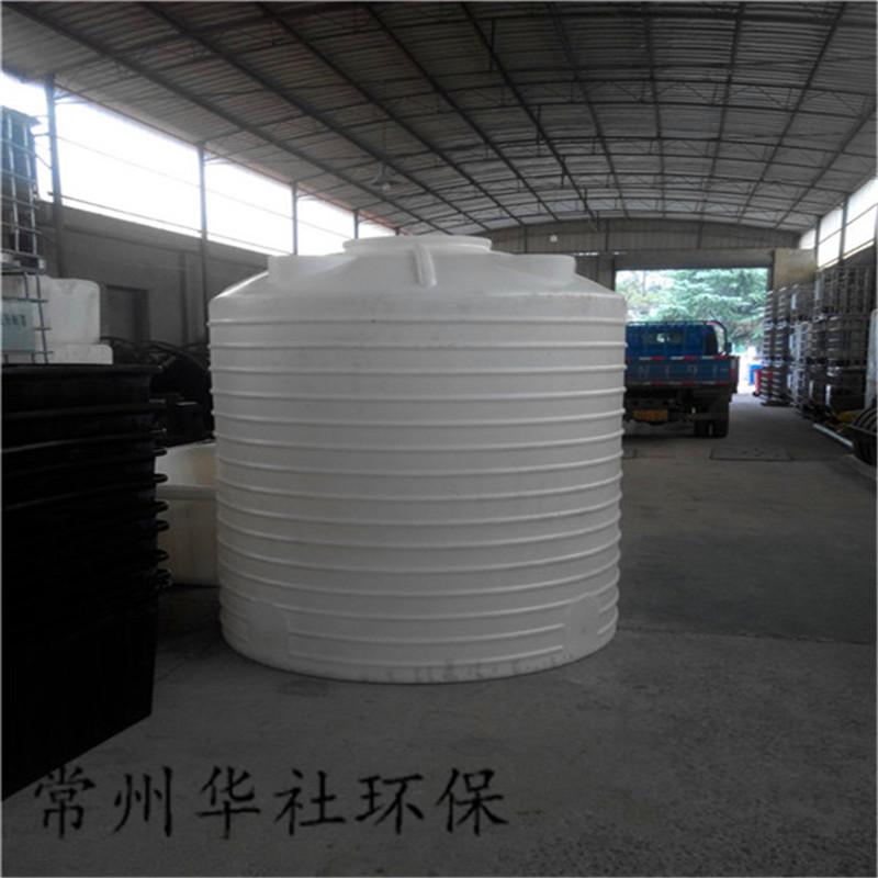 常州华社直销10吨塑料水塔 塑料储罐PE塑料水塔 滚塑容器水塔 聚乙烯储罐 塑料储罐  塑料水塔