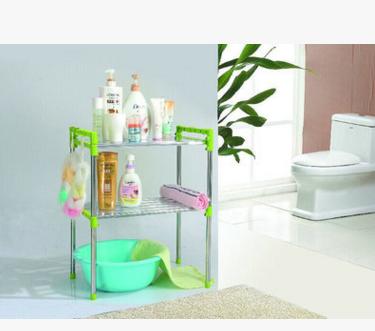 厂家直销 防锈浴室置物架 厨房置物架 多用途置物架 不锈钢置物架
