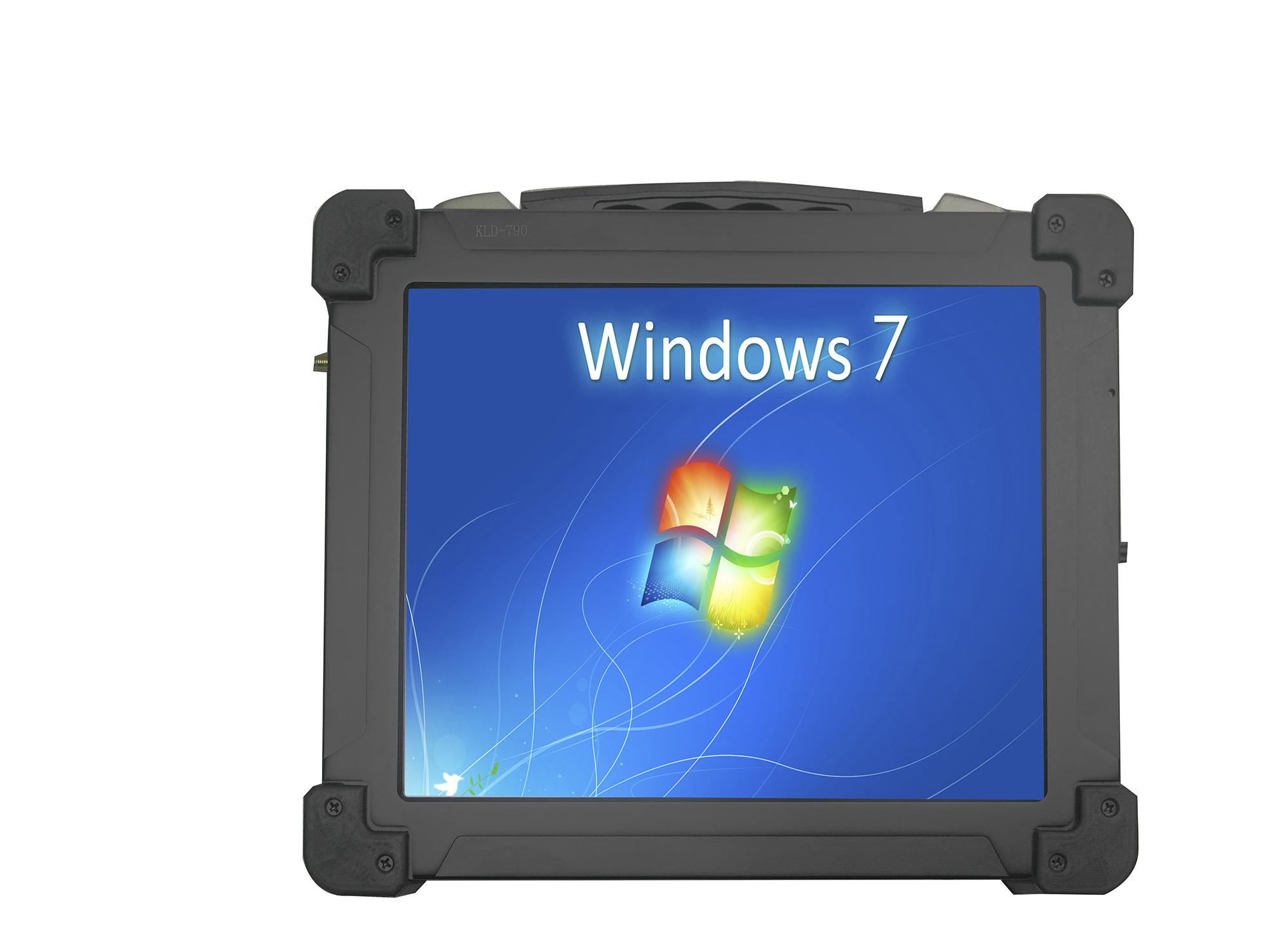 天瀚智能 户外 加固 三防 10.4电阻屏 手持工业平板电脑定制