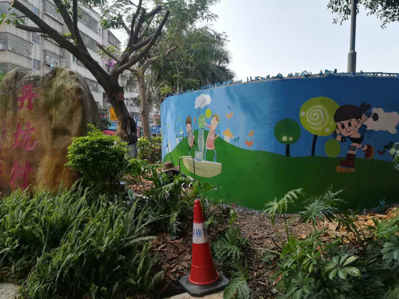 福州墙绘、3D壁画、手绘地画