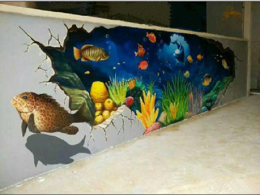 广州墙绘、企业形象墙、企业文化墙