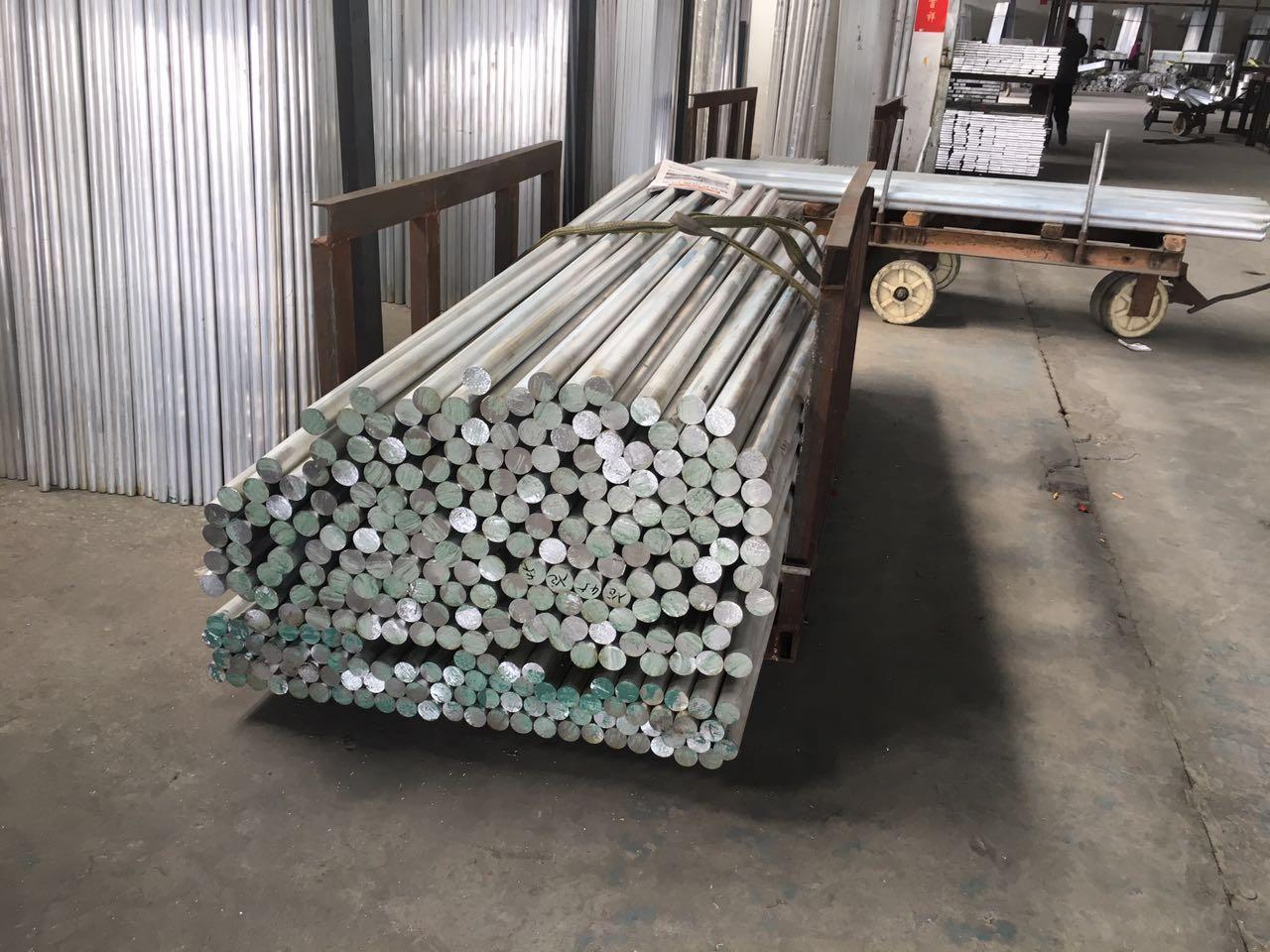 直径50铝棒价格便宜阳极铝棒铝棒大量库存