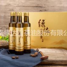 野生山茶油 绿达野生山茶油255mLx3礼盒装 天然有机