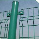 双边丝护栏网 双边丝绿色铁丝护栏网 双边丝绿色铁丝护栏网框架护栏