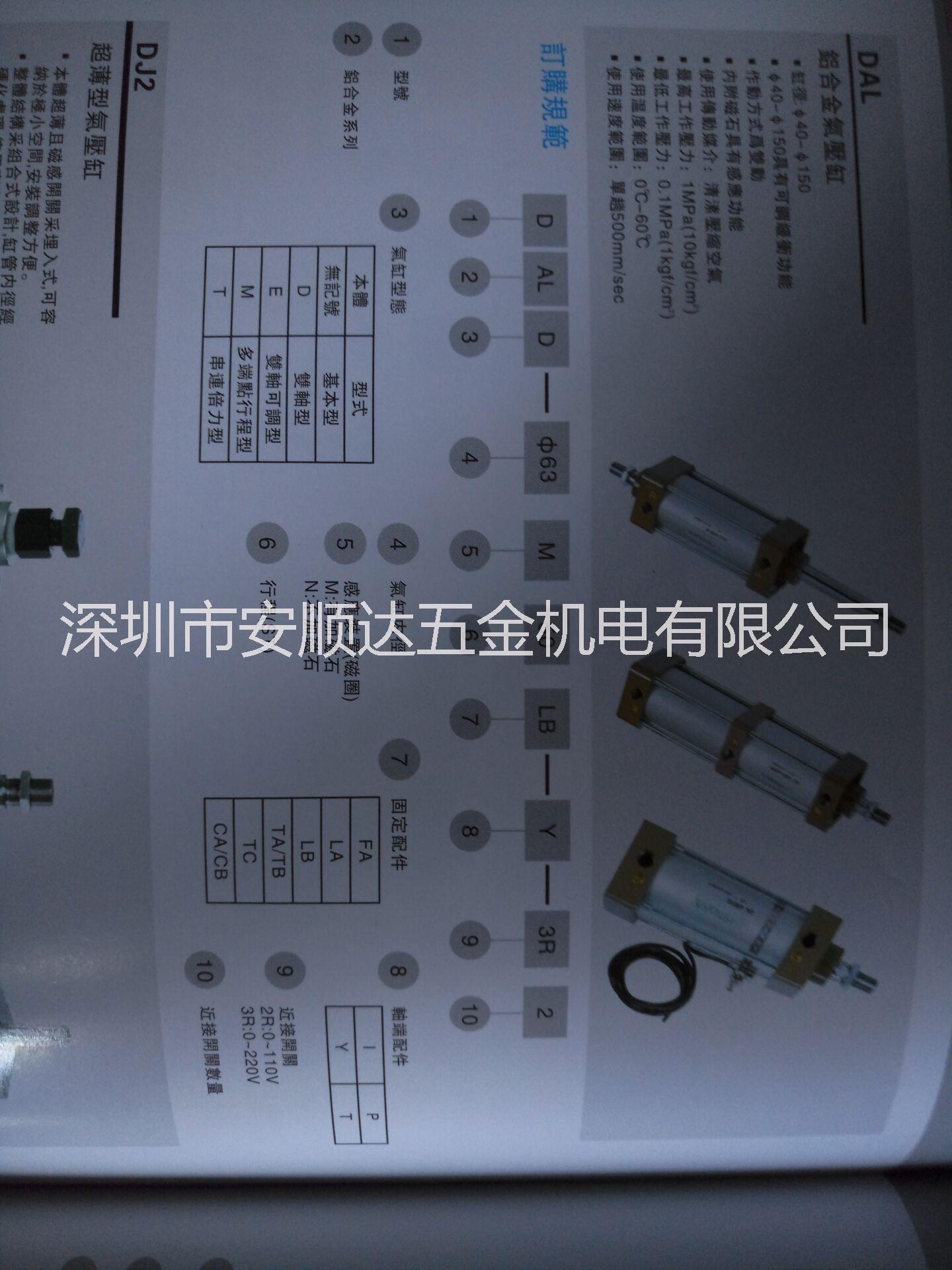 中日流体HINAKA铝合金气缸销售