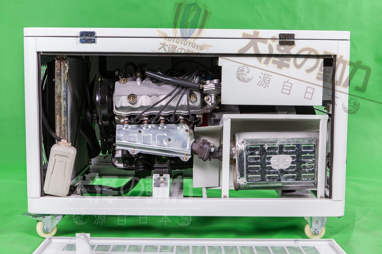 大泽进口30千瓦静音式汽油发电机