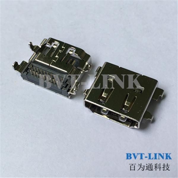 东莞HDMI沉板母座连接器_东莞HDMI价格_东莞HDMI厂家 HDMI沉板式连接器
