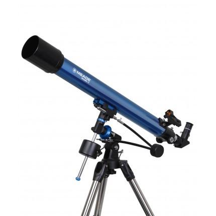 折射天文望远镜米德80EQ米德望远镜官网