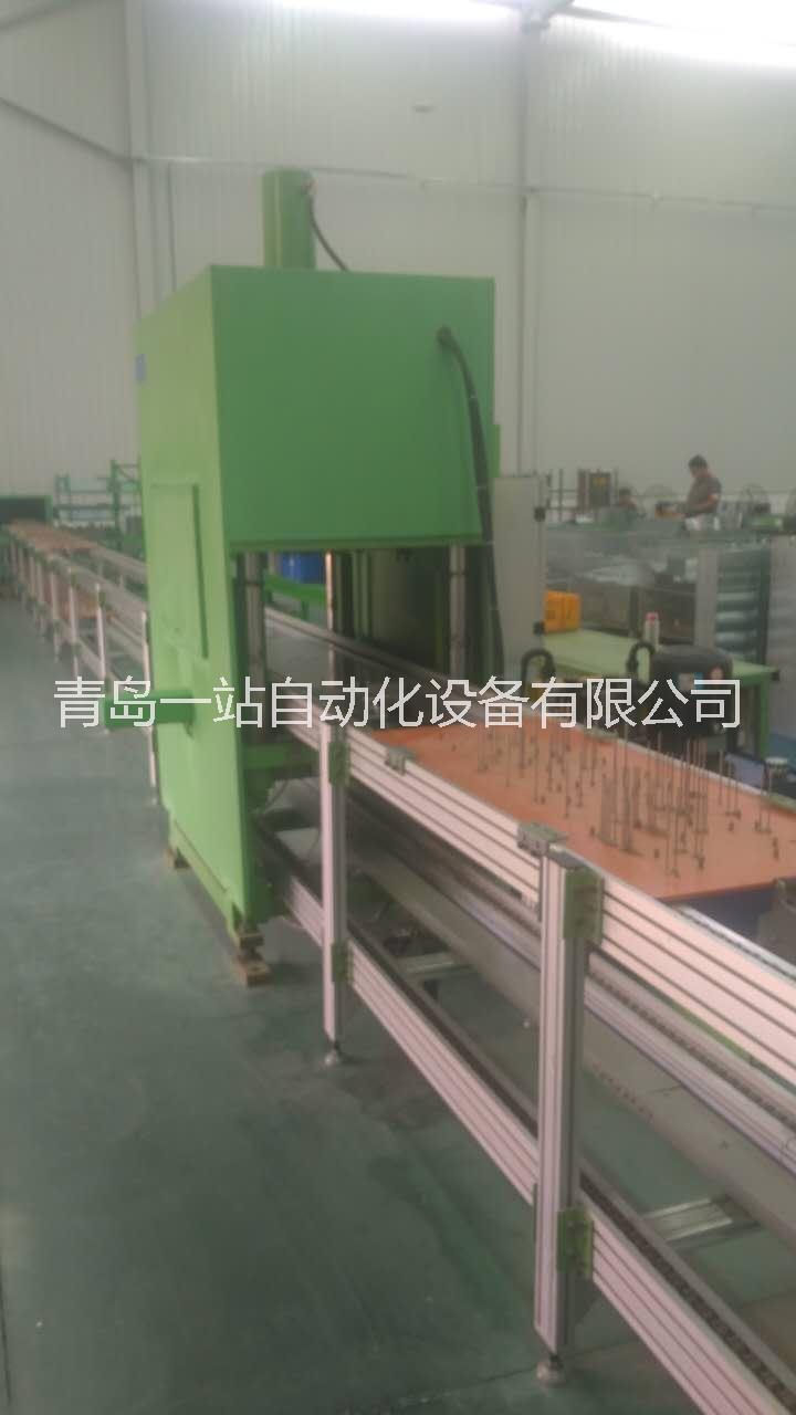 自动化液压机生产线倍速链生产线 自动化压力机生产线倍速链生产线 烟台压力机生产