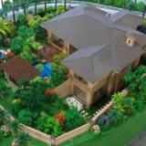 单体别墅模型、智能家居模型