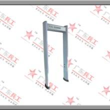 供应十八区LCD液晶圆柱形金属安检门、室内高端圆柱型安检门