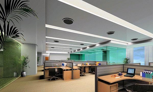 银行大厅吊顶吸音防尘铝扣天花板 600*1200 银行大厅吊顶
