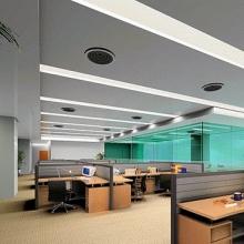 银行大厅吊顶吸音防尘铝扣天花板 600*1200 银行大厅吊顶图片