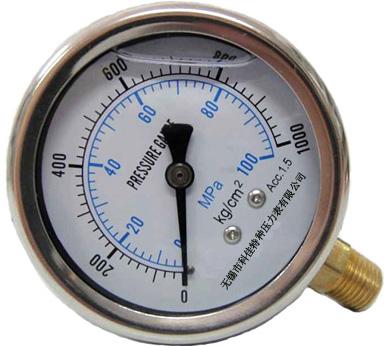 耐震压力表生产厂家,耐震压力表量程,规格型号