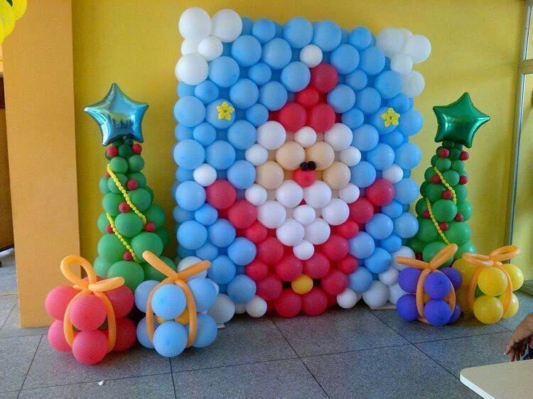 北京气球装饰布置 宝宝满月百天气球装饰布置 派对气球装饰布置 生日派对气球装饰布置