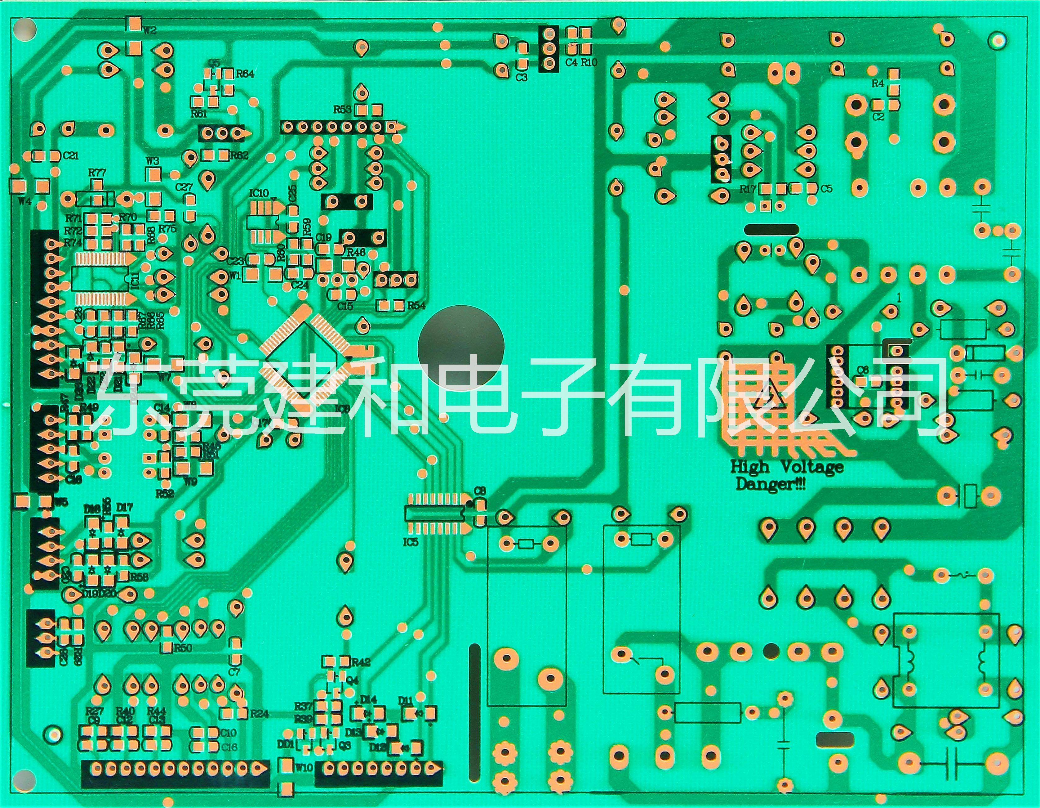 厂家专业加工定制 单面电路板 线路板加工 单面板 .