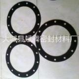 供应橡胶法兰垫 橡胶垫片 耐油橡胶垫 带孔橡胶法兰垫片