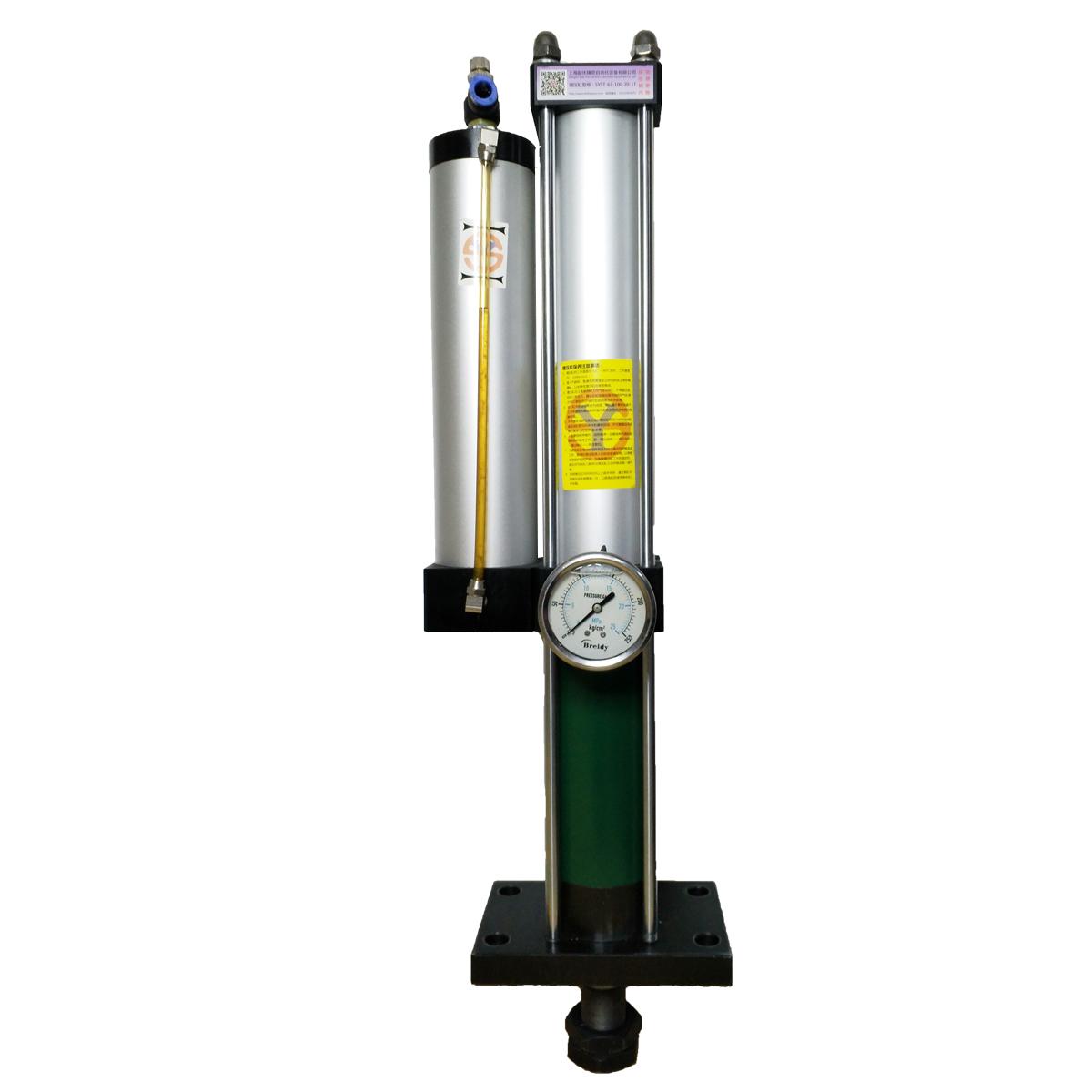 供应1吨标准型气液增压缸 定制爆款 2年包换 终身维护