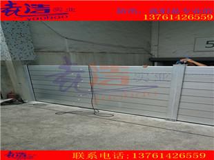 地下车库入口装铝合金防汛挡水板厂家定做防进水挡板