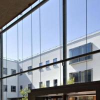 玻璃幕墙半单元式、封闭式、开放式玻璃幕墙厂家批发制作图片