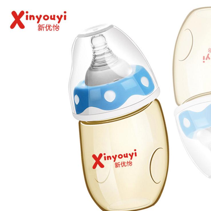 新优怡奶瓶ppsu宽口径婴儿防胀气耐摔企鹅型德国巴斯夫材质创意款 新优怡婴幼儿奶瓶 婴幼儿奶瓶供货商 婴幼儿奶瓶生产厂家