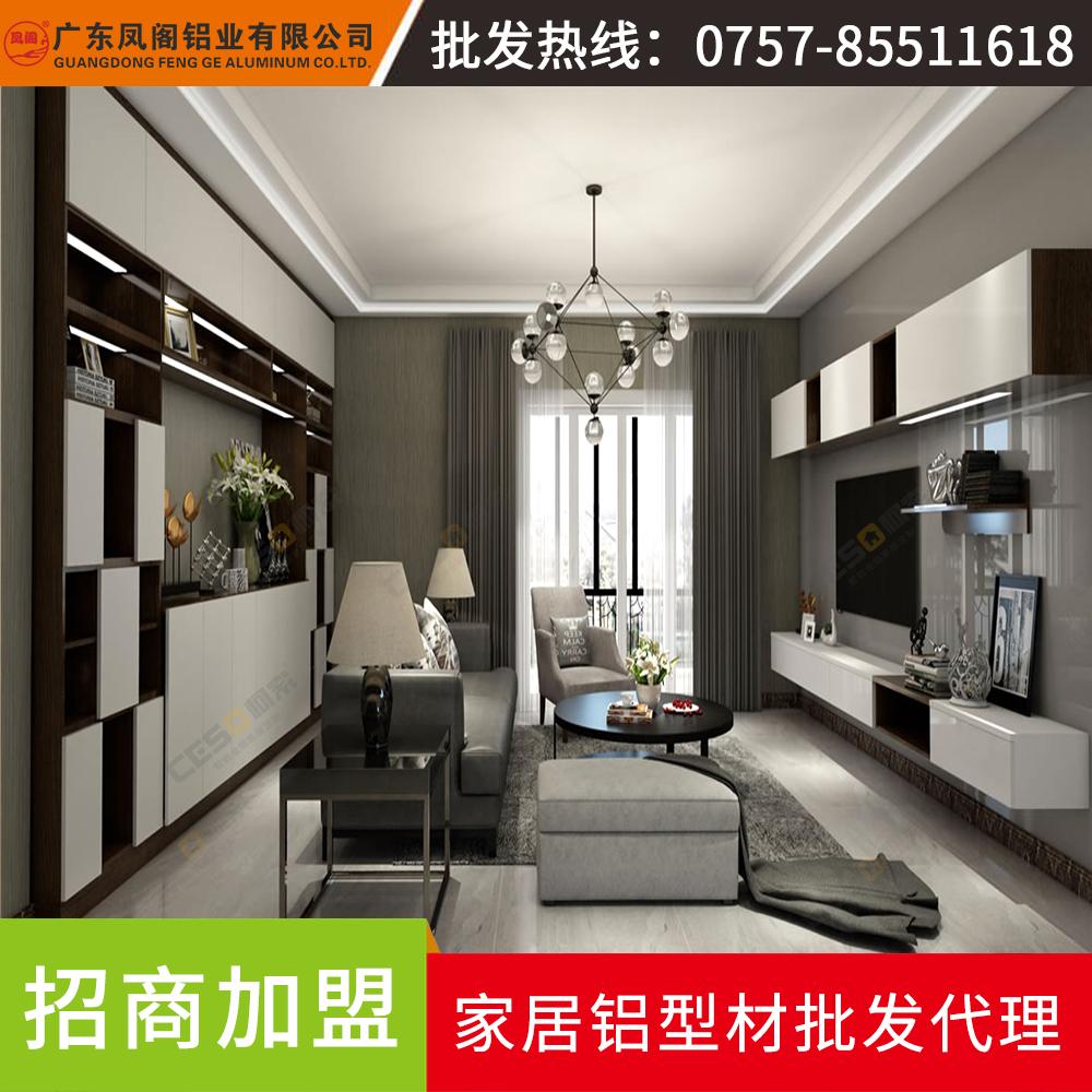 全铝家居衣柜衣橱整体组装欧式家具定做卧室简约现代经济型