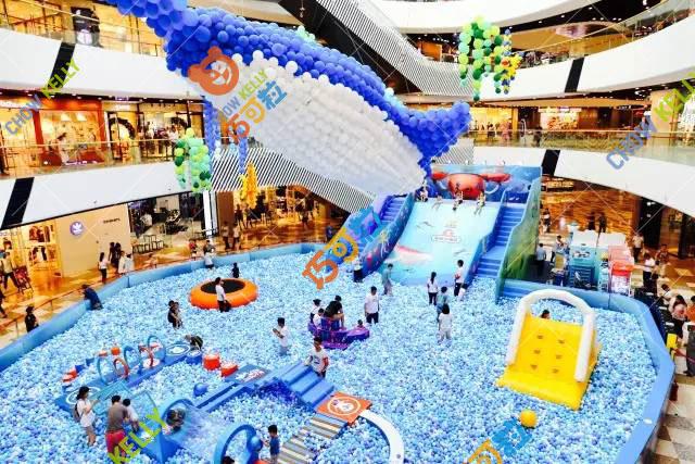 巧可粒广州儿童积木城堡室内EPP积木乐园百万海洋球活动设计方案