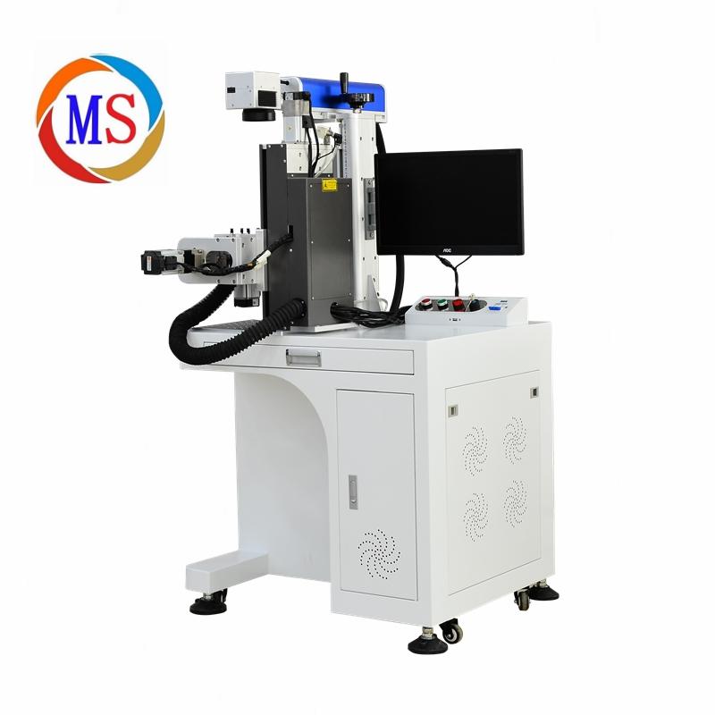3D旋转紫外激光打标机