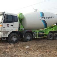 供应欧曼二手12方水泥搅拌车,运输车福田雷萨上装12方二手混凝土罐车