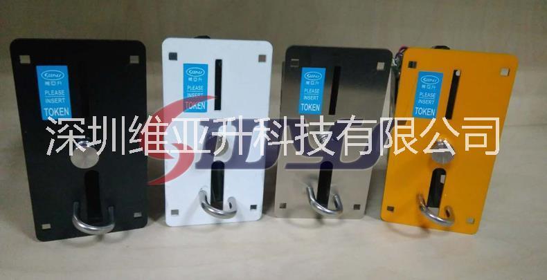 维亚升工厂直销新款记忆式投币口WYS-CJ038TJ 侧投式投币器 记忆式投币器WYS-CJ038T