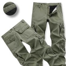 大量批发加绒工装裤男士户外运动裤
