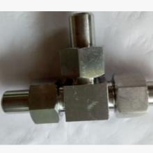 优质不锈钢接头,液压管件接头,不锈钢三通接头
