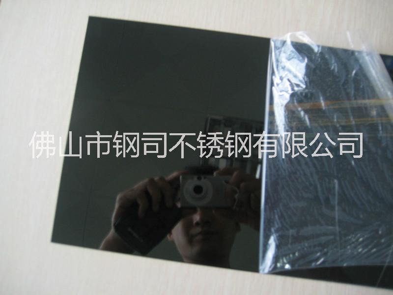 304不锈钢水镀黑钛板 201不锈钢黑钛板