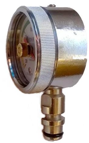 矿用双针耐震压力表规格型号