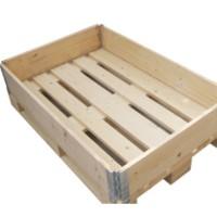 钢带木箱供货商 免熏木箱厂家直销 木托盘价格