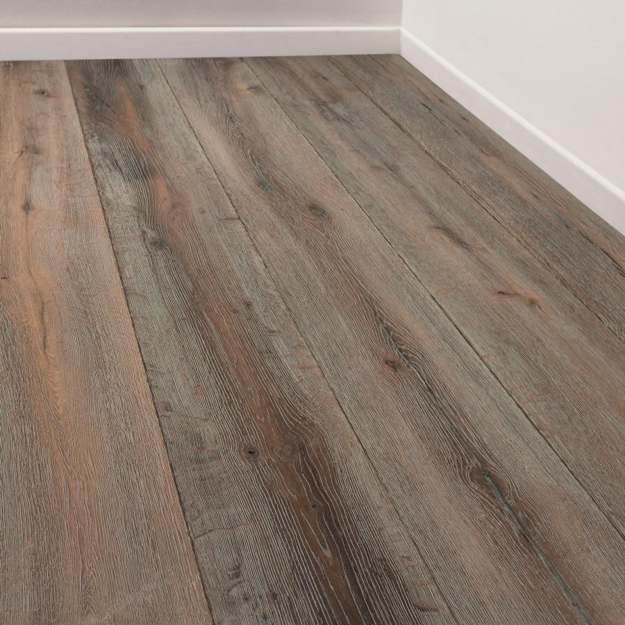 橡木烟熏多层实木复合地板,三层地板 拉丝 浮雕 烟熏橡木拉丝多层地板