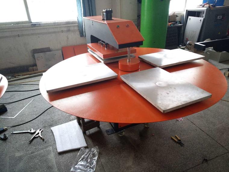 厂家直销东莞烫画机液压全自动四工位烫画机印花、印画烫画机
