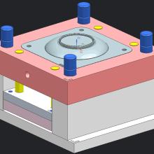供应U盘卡片 u盘 批发  创意卡片u盘外壳 塑胶产品模具制造和模具加工