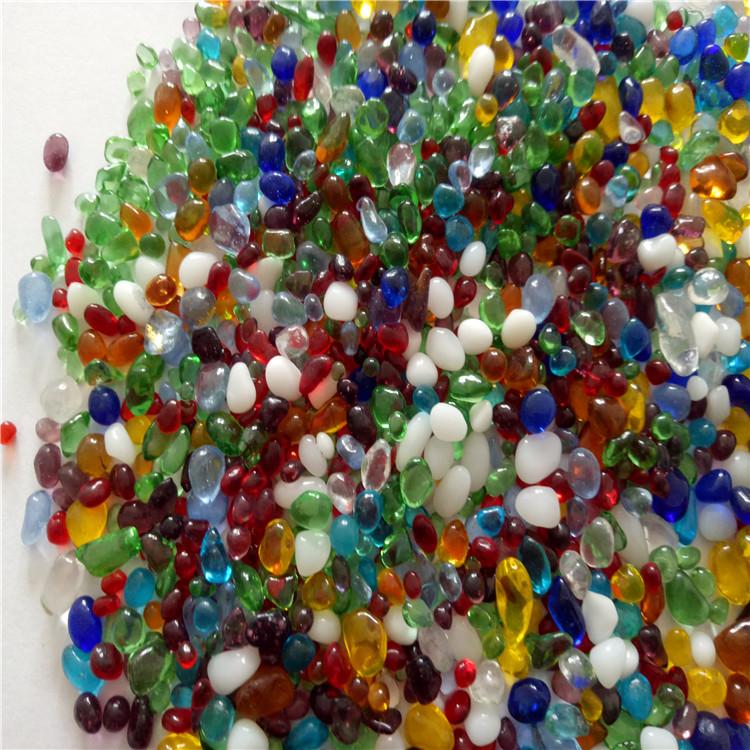 浙江厂家直销彩色 玻璃珠工艺品 原色玻璃砂 玻璃微珠 价格优惠欢迎订购