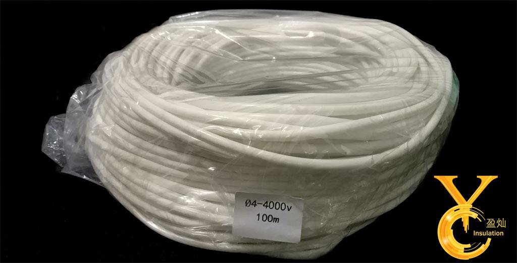 硅橡胶玻璃纤维套管(内纤外胶