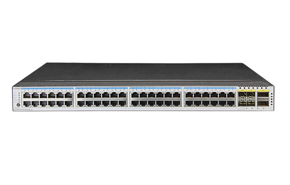 CE5855-48T4S2Q-EI交换机(48*千兆电,4*万兆SFP+,2*40G QSFP+,2*交流电源,端口侧进
