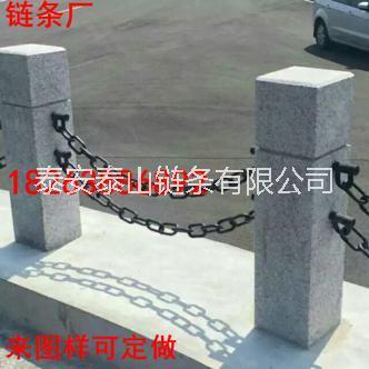 常州鲁兴锰钢14mm河道护栏铁链结实