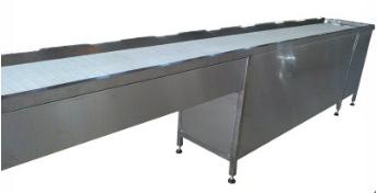 直线平皮带式餐具回收线品质保证