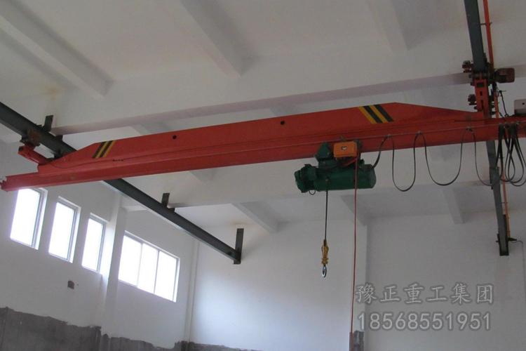 LX型电动单梁悬挂起重机,悬挂行车价格